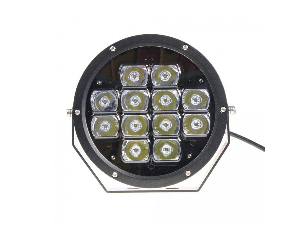LED světlo přídavné/pracovní kulaté, 12-48V, ECE R112