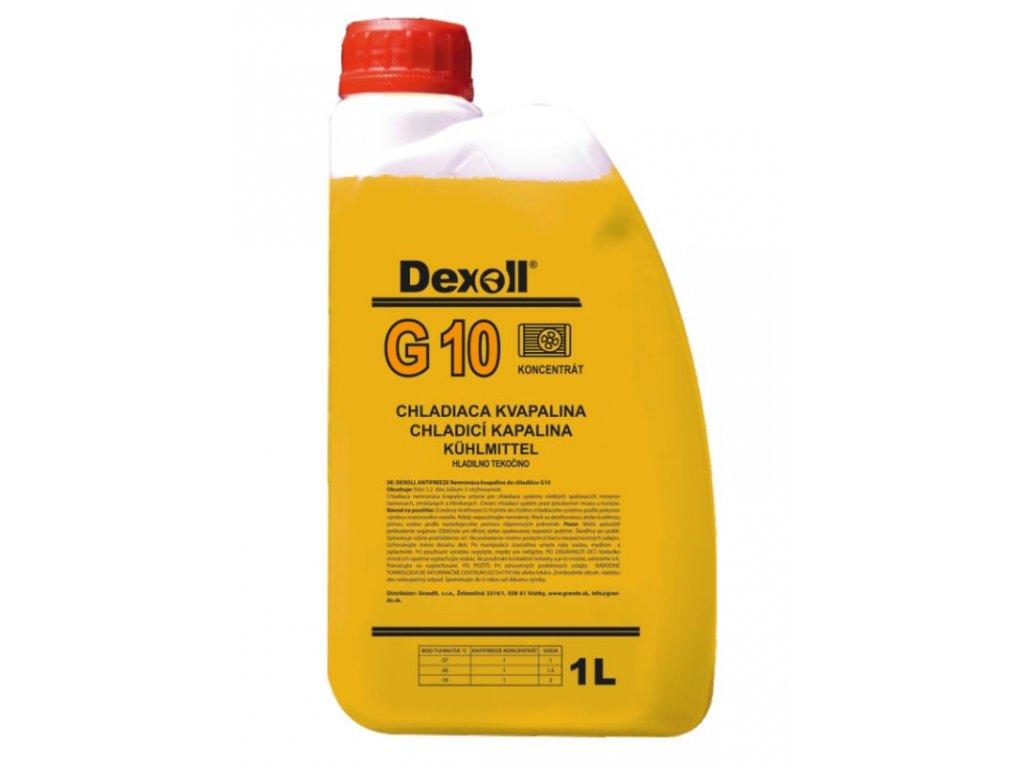 DEXOLL Antifreeze G10 chladící kapalina žlutá, koncentrát