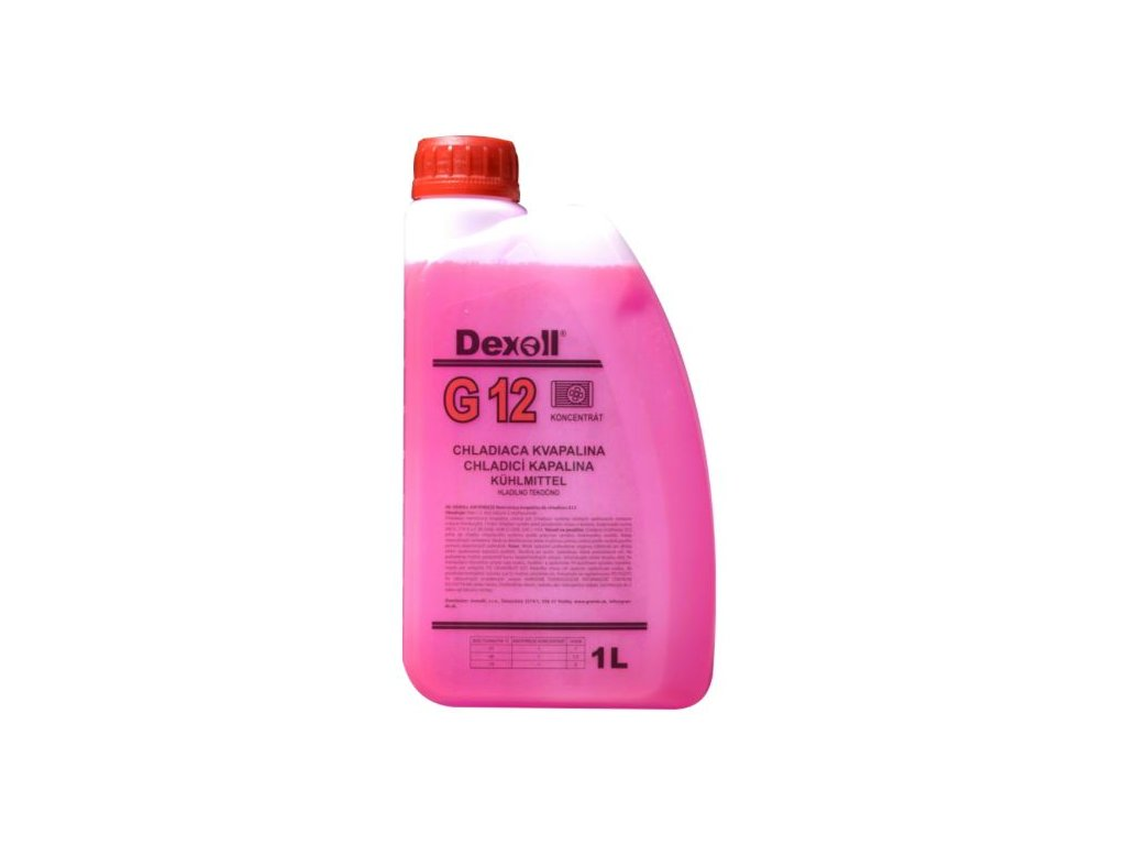 DEXOLL Antifreeze G12 chladící kapalina růžová, koncentrát