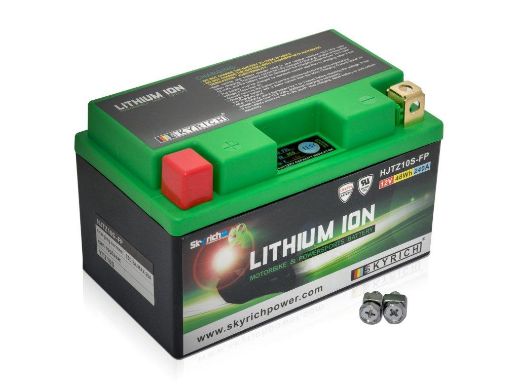 HJTZ10S FP Motobaterie Lithium