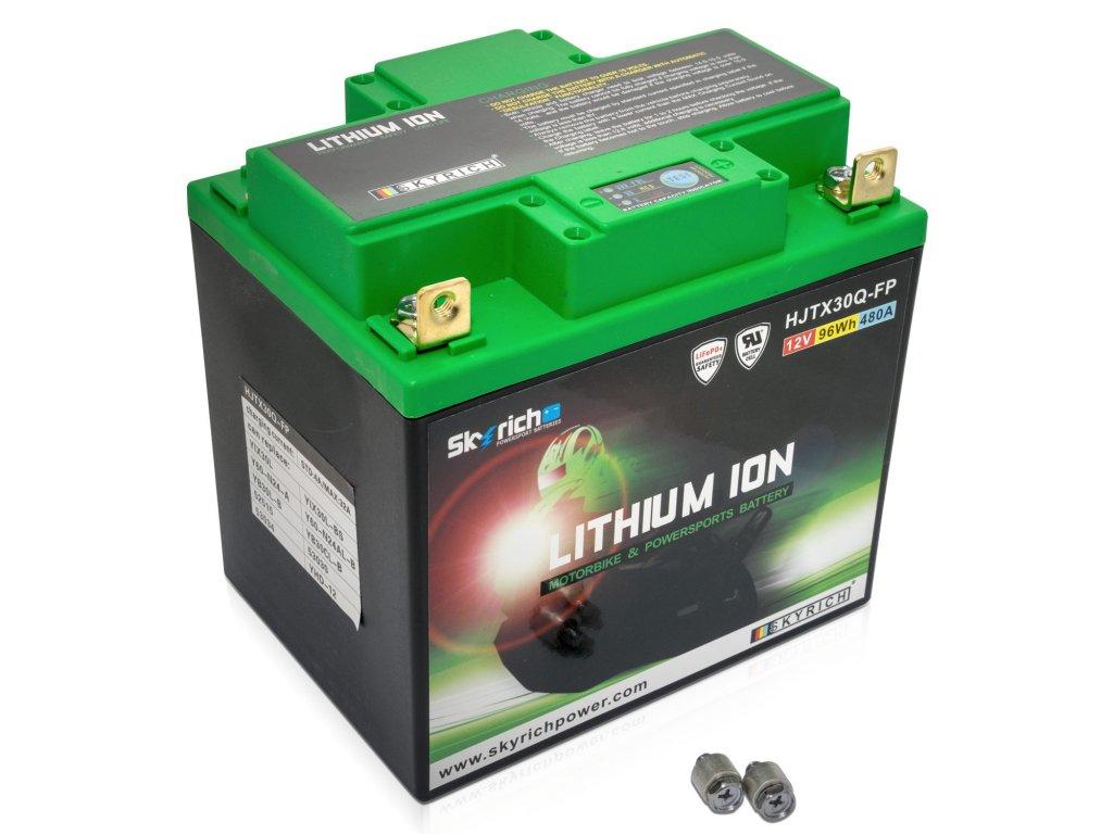 Motobaterie Skyrich Lithium HJTX30Q FP 2