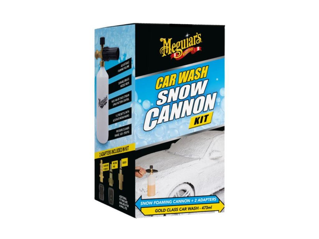 G192000 Meguiar's Car Wash Snow Cannon Kit.