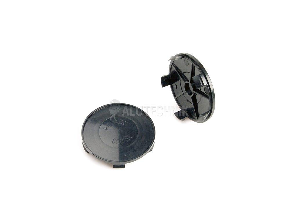 Středová krytka kola - poklička průměr 65/68mm(vnitřní,vnější) (CS68-BMW) BMW plast černá, na orig.kola,úchyt 4mm