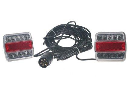 2x sdružená lampa zadní LED včetně kabeláže a připojení 7pin