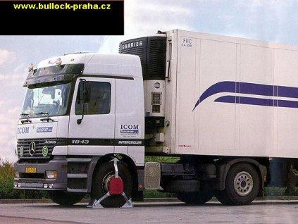 AUTOBLOK mechanické zabezpečení pro nákladní vozy - dle rozměrů pneu