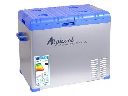 Autochladnička Alpicool 50l 230/24/12V -20°C  kompresorová