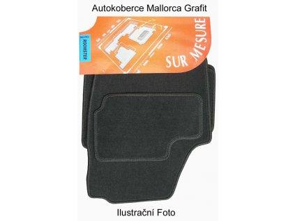 Autokoberce Škoda ROOMSTER, 4 díly materiál MALLORCA