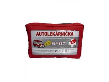 Autolékárnička textilní Červená 341/2014 Sb.,