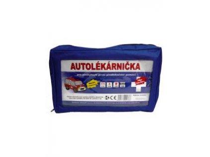 Autolékárnička textilní Modrá 341/2014 Sb., Expirace 06/2022