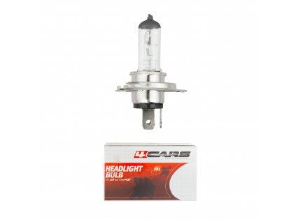 Automobilová žárovka 4CARS  H4 12V 60/55W PX26d