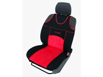Autopotahy Autopotahy TUNING EXTREME s alcantarou,1+2, sada pro tři sedadla, červené