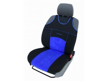 Autopotahy Autopotahy TUNING EXTREME s alcantarou,1+2, sada pro tři sedadla, modré