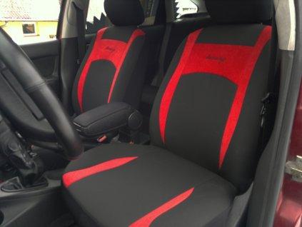 Autopotahy Design červené