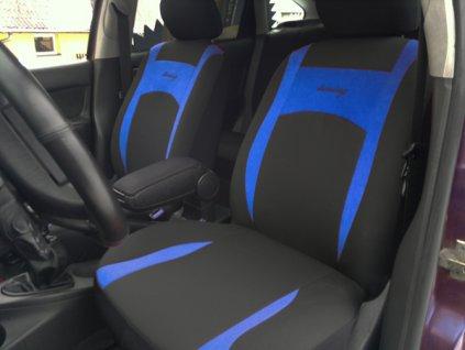 Autopotahy Design modré