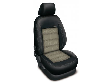 Autopotahy HONDA CIVIC IX, sedan, od r. 2012, AUTHENTIC DOBLO, matrix béžový
