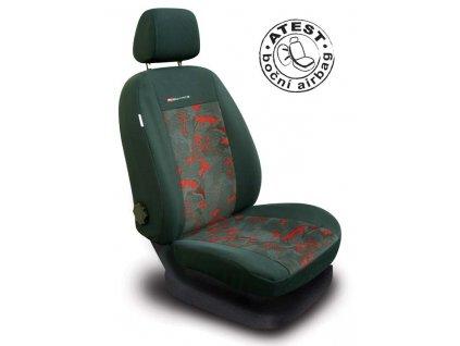 Autopotahy LUX STYLE Pick-Up červenočerné