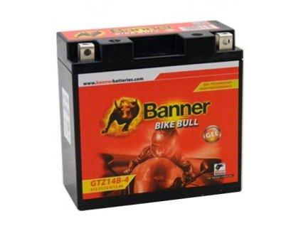 Banner  BIKE BULL GEL 51221 GTZ14B-4 12V 12Ah 165A = YT14B-4