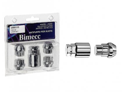 Bimecc -bezpečnostní  matice kol M12x1,25