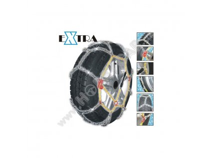 Brillant eXtra sněhové řetězy pro osobní vozy velikost 40