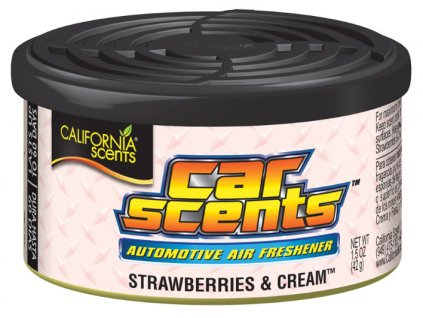 vůně do auta Cars cents jahody se slackou 2