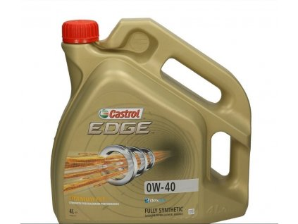 Castrol EDGE Edge Sport Titanium 0W-40 motorový olej 1l