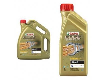 Castrol Edge TD 5W 40 Titanium FST 1+5l