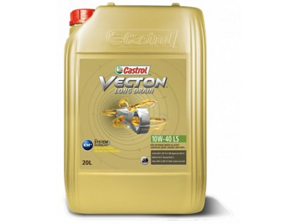 Castrol Vecton Long Drain 10W-40 E6/E9 motorový olej  20L