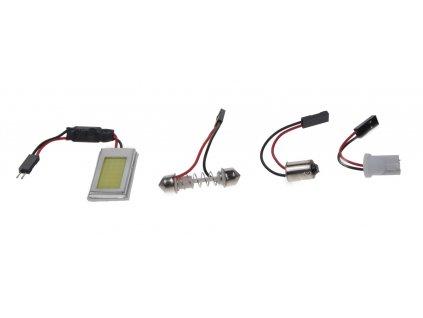 COB LED panel 18x33mm 12-24V, 21LED/0,5W