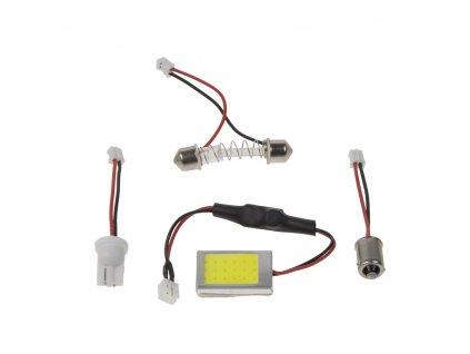 COB LED panel 22x27mm 12-24V, 18LED/0,5W