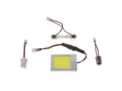 COB LED panel 37x42mm 12-24V, 48LED/0,5W