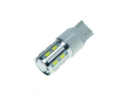 CREE LED T20 (7443) bílá, 12SMD + 3W LED 10-30V