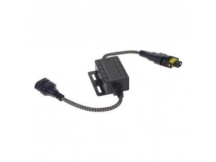 Digitální eliminátor chybových hlášení/rušení s redukcí pro žárovky H8, H9, H11
