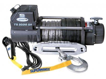 Elektrický lanový  naviják Superwinch - Tiger Shark 9500RS 12V 4,3t