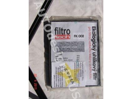 FILTROTECH filtr FK002 - kabinový, pylový uhlíkový - Audi, Seat, Škoda, VW