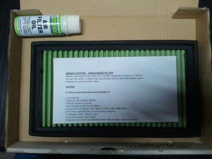 GREEN Coton Air Filter Sportovní vzduchový  filtr  P 511488