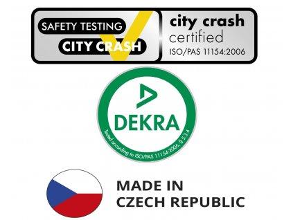HAKR Střešní nosič  0300 FE - pro vozy Škoda Octavia Fabia  s fixačním bodem