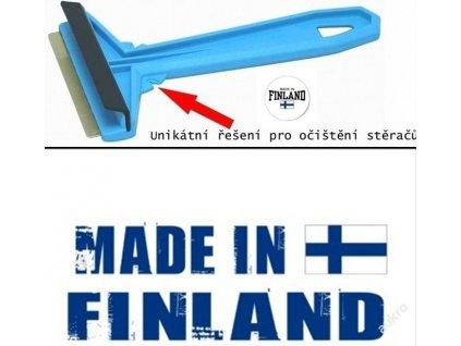 HOKKIPLAST Finská zimní  autoškrabka MURSKA 575 s mosaznou čepelí - 100% originál
