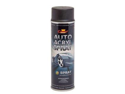 CHAMPION COLOR - AUTO ACRYL základová barva - sprej 500ml - černá - kopie