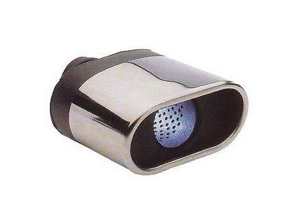 ITC Koncovka výfuku s tlumící výplní 70 x 140mm x 170mm průměr 52mm