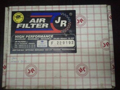 JR FILTERS Sportovní vzduchový  filtr  Renault  F229192