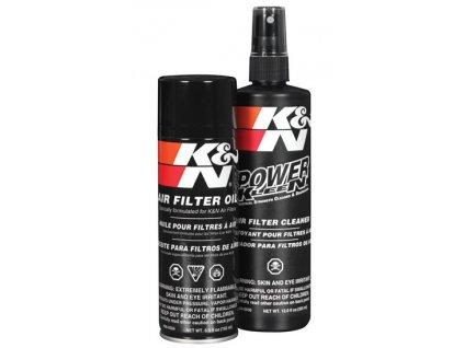 K&N Čistící a impregnační sada na vzduchové filtry KN