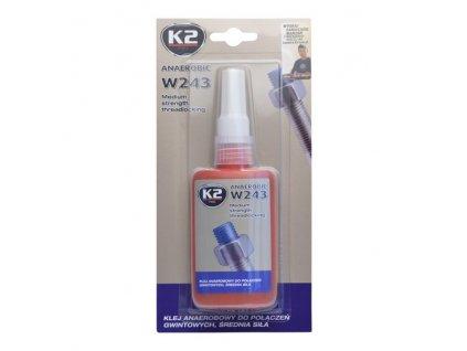 K2 ANAEROBNÍ LEPIDLO  W243 - fixátor šroubových spojů 50 ml