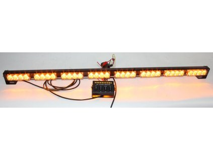 LED alej voděodolná (IP66) 12-24V, 32x LED 1W, oranžová 955mm