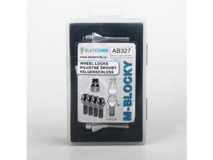 M-BLOCKY AB327 pojistné šrouby M12x1,25x27mm, kužel, klíč 17/19