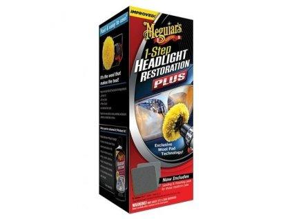 Meguiars 1-Step Headlight Restoration Plus - sada na oživení světlometů