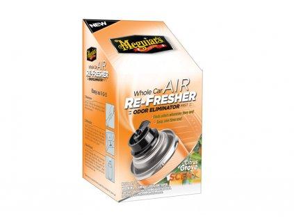Meguiar's Air Re-Fresher Odor Eliminator - Citrus Grove Scent - desinfekce klimatizace + pohlcovač pachů + osvěžovač vzduchu, 71 g