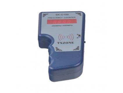 Měřič frekvence dálkových ovladačů + test IR ovladačů