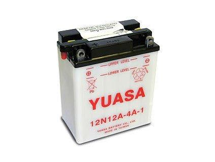 Motobaterie YUASA 12N12A-4A-1 12V12Ah