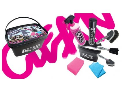 Muc-Off  8 in 1 Motorcycle Cleaning Kit sada pro mytí a konzervaci