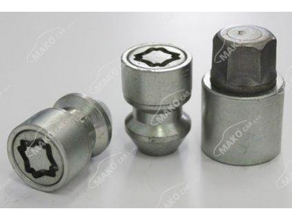 SICUSTAR EN115L pojistné matice M12x1,5 kužel, zavřená, klíč 19